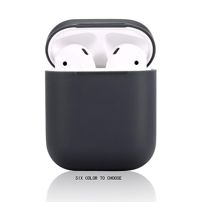 Funda Airpods de Silicona para AirPods Apple,Teyomi con Correa Deportiva para Apple Airpods