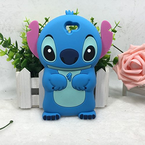 HTC One A9 Case Cover ,Stingna 3D Cute Blue Animal Soft Silicone Case Cover For HTC One A9 + Free Gift (\HTC A9 B)