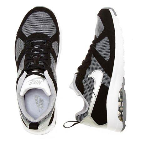 Nike WMNS Air Max Muse Black/Black Metallic Silver Holgura Amplia Gama De wSleMa
