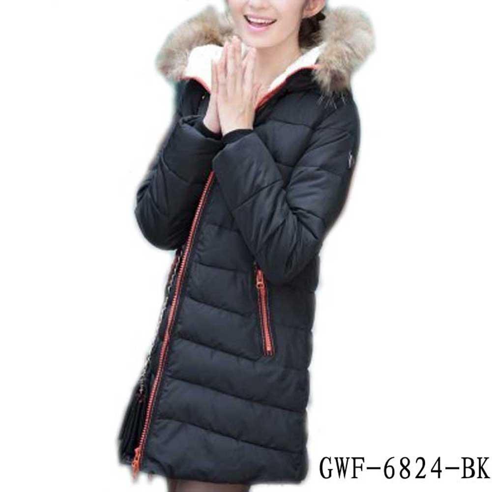 Womens Winter Coat Thick Cotton Padded Jacket Parka Overcoat Chinese Sz L-XXXL
