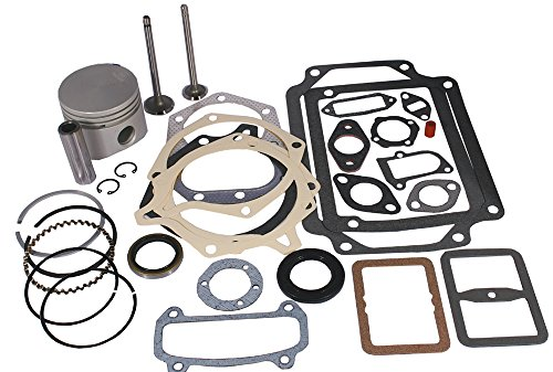 Stens 785-384 Overhaul Kit, Fits Kohler: K241, for 10 HP 0.01 oversize horizontal engines, Not compatible with greater than 10% ethanol fuel by Stens