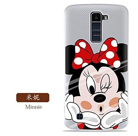 PREVOA ® 丨 Colorful Silicona TPU Funda Cover Case Protictive Carcasa para LG K10 - Smartphone 5.3
