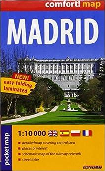 Book Madrid r/v (r) wp mini (City Plan Pockets)
