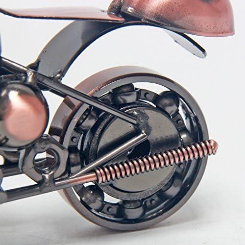 Signstek vintage fabriqu/é /à la main Mod/èle de moto de fer comme Collectible Art Sculpture pour les amateurs de moto
