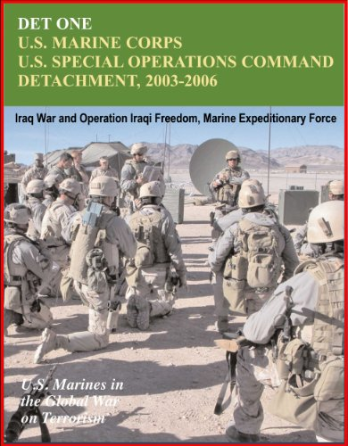 Det One: U.S. Marines Corps U.S. Special Operations Command Detachment 2003-2006 - Global War on Terrorism, Iraq War