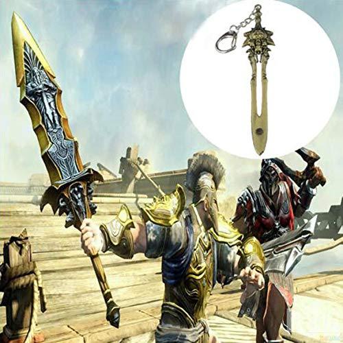 Vengadores 3 llavero Dios de Guerra 4 Kratos Gran Espada Llavero 1 pieza