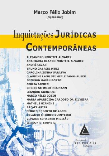 Inquietações Jurídicas Contemporâneas