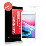 iPhone 8/iPhone 7 Screen Protector [2 Pack],Auideas 3D Touch Compatible Tempered Glass Ultra Thin 9H Hardness 2.5D Round Edge for Apple iPhone 8/iPhone 7 (4.7 inch).