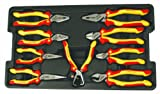 Wiha 32999 Insulated Pliers/Cutters Tray Set 9-Piece
