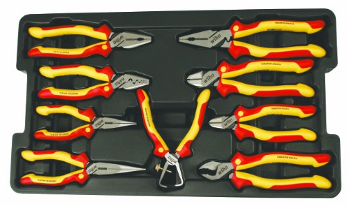 Wiha 32999 Insulated Cutters 9 Piece