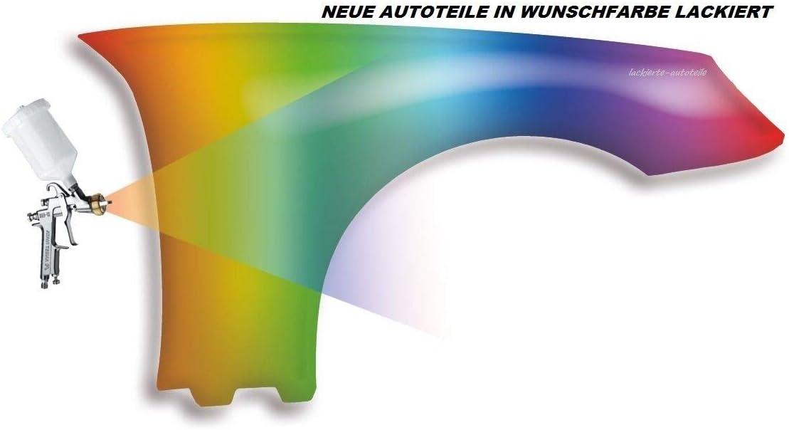 Vorderer Kotfl/ügel ohne Blinkerloch lackiert in Wunschfarbe Kompatibel f/ür VW Passat 3BG 2003-2005