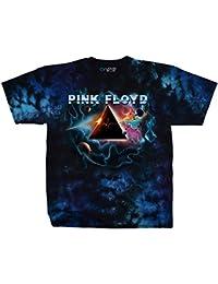 Pink Floyd Pulsar Prism Men's Tie Dye T-Shirt