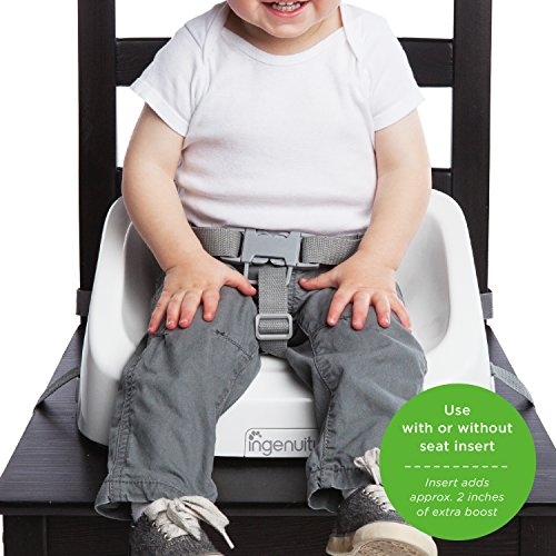 Review Ingenuity Smartclean Toddler Booster,
