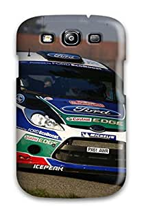 Excellent Design Ford Fiesta Moving Sports Car Phone Case For Galaxy S3 Premium Tpu Case