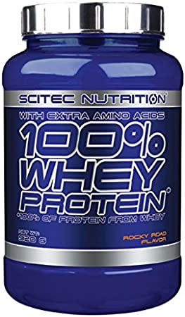 Scitec Nutrition Whey Protein Proteína Rocky Road - 920 g