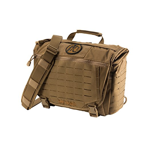46ba1f5e054b OneTigris HU Tactical Messenger Bag Laser-Cut MOLLE Laptop Shoulder Bag