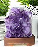 Amethyst Lamp, Yellow Tree Company Authentic Handmade Amethyst Crystal Lamp, Better than Himalayan Salt lamps, More Gorgeous and effective than Himalayan Salt Lamps amazing Amethyst Lamp Amcl