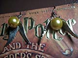 Golden Snitch Earring, Harry Potter Earrings, Steampunk Antiques - Best Reviews Guide