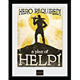 30 x 40cm Fable Hero Required Framed Collector Print