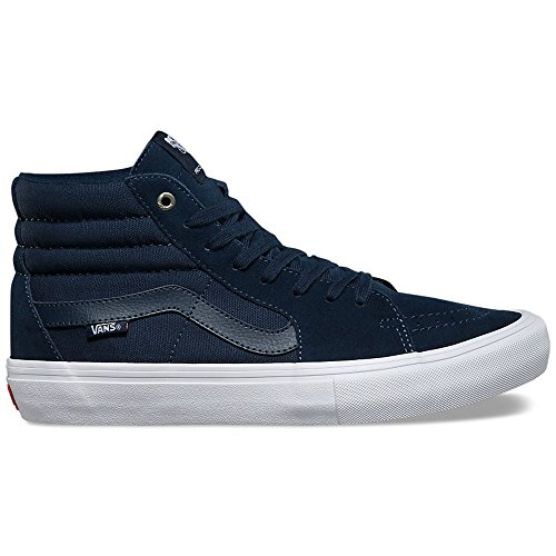 7fc0d5753864 Galleon - Vans Sk8-Hi Pro (Navy Navy White) Mens Skate Shoes -11.5
