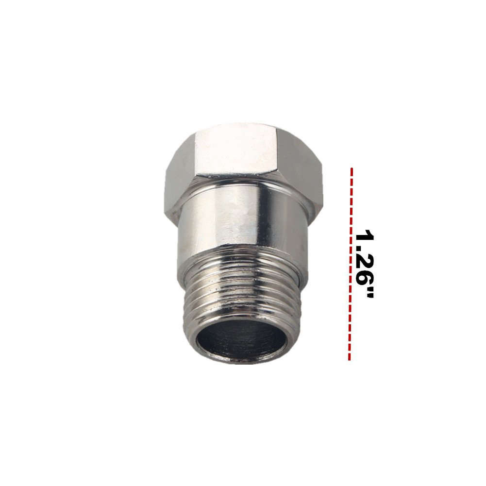 JGR 2 PCS O2 Oxygen Sensor Fitting Bung M18x1.5