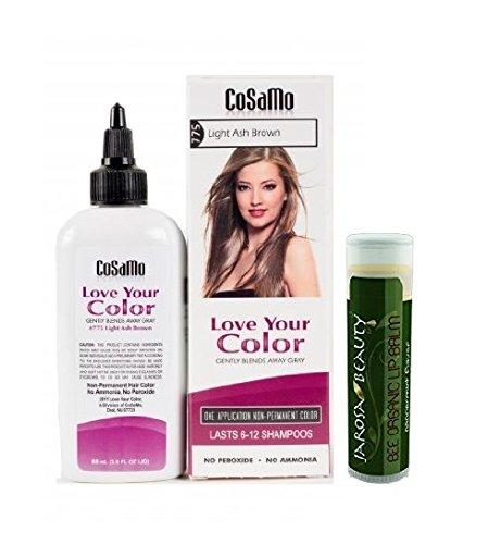 Cosamo Love Your Color, No Ammonia, No Peroxide Hair Colo...