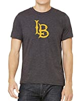 Cal State Long Beach 49ers CSULB Distressed Logo Tee Version 1