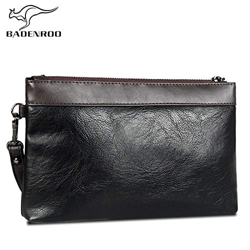 Hot Simple Men Clutch Bag Wallet Handy Brand Leather ...