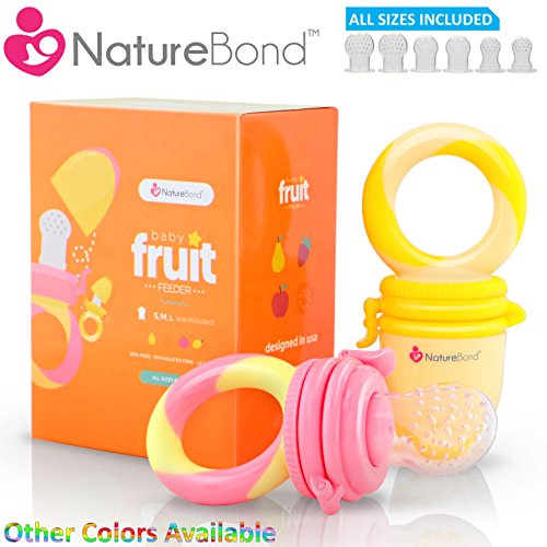NatureBond Baby Feeder Fruit Pacifier product image