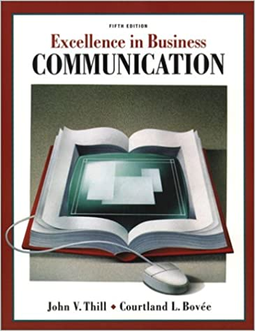 Excellence In Business Communication 5th Edition