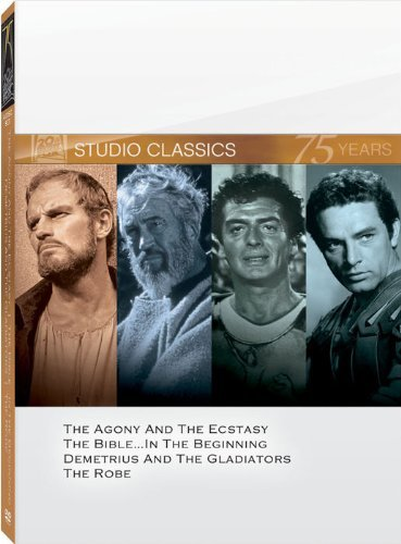 20th Century Fox Studio Classics - 75 Years (The Agony and the Ecstasy / The Bible / Demetrius and the Gladiators / The Robe)