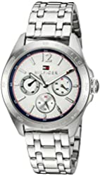 Tommy Hilfiger Women's Quartz Stainless Steel Casual Watch, Color:Silver-Toned (Model: 1781664)