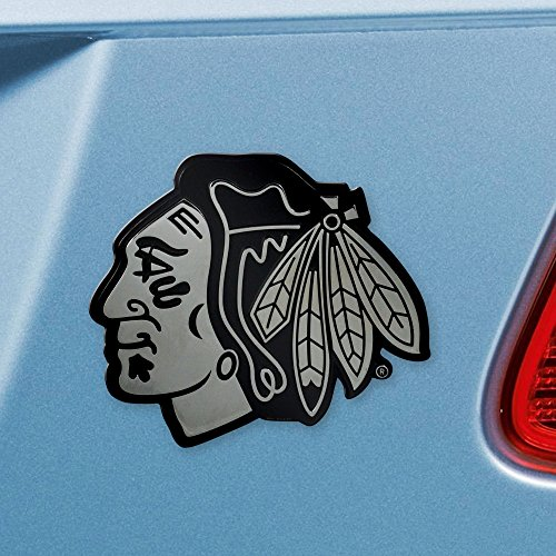 FANMATS  14791  NHL Chicago Blackhawks Chrome Team Emblem -