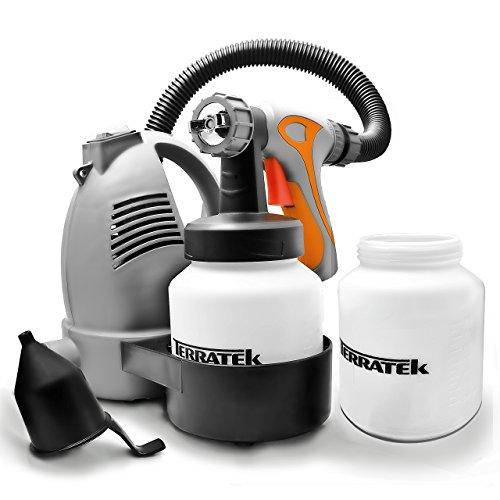 Paint Sprayer, 700W DIY Electric Spray Gun with 3 Spray Patterns, 2 Paint...