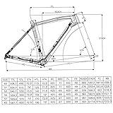 IMUST Full Carbon Fiber T700 Cyclocross Frameset