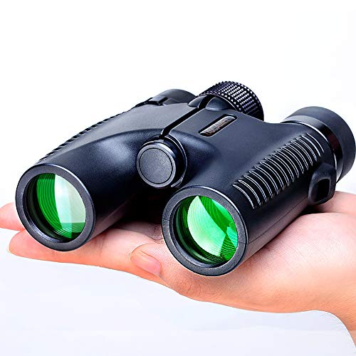 USCAMEL Compact Binoculars for Children and Kinds, and Adults Bird Watching,Lightweight and Compact for Hours of Bright, Clear Bird Watching, Hunting,Also for Outdoor Sports Games and Concerts-Black