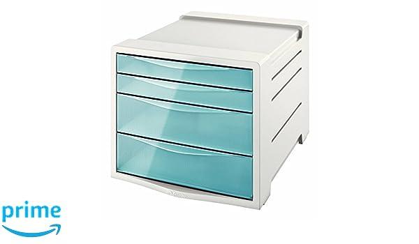 Esselte Buc de 4 Cajones, Azul, ColourIce, 626284: Amazon.es: Oficina y papelería