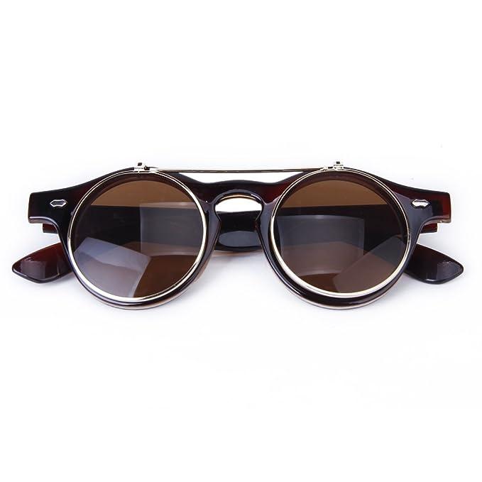 Gafas Estilo Steampunk De Goth Del Vintage Gafas De Sol para ...