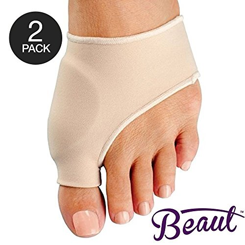 Bunion Corrector - Bunion Toe Straightener and Bunion Relief Detox Sleeve Bunion Pad with EuroNatural Gel - Orthopedic Bunion Corrector and Metatarsal Pad for Hammertoe and Hallux Valgus (Small)