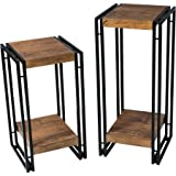 Mainstays Sturdy and Durable Small and Large Matching Loft Accent Table Set