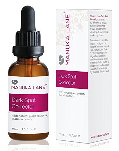 (Natural Dark Spot Corrector CC Cream by Manuka Lane - Nature's Most Powerful Multi-Purpose Tone Corrector, Dark Spot Lightener, and Moisturizer w/Gigawhite, Lemon Balm, Manuka Honey )