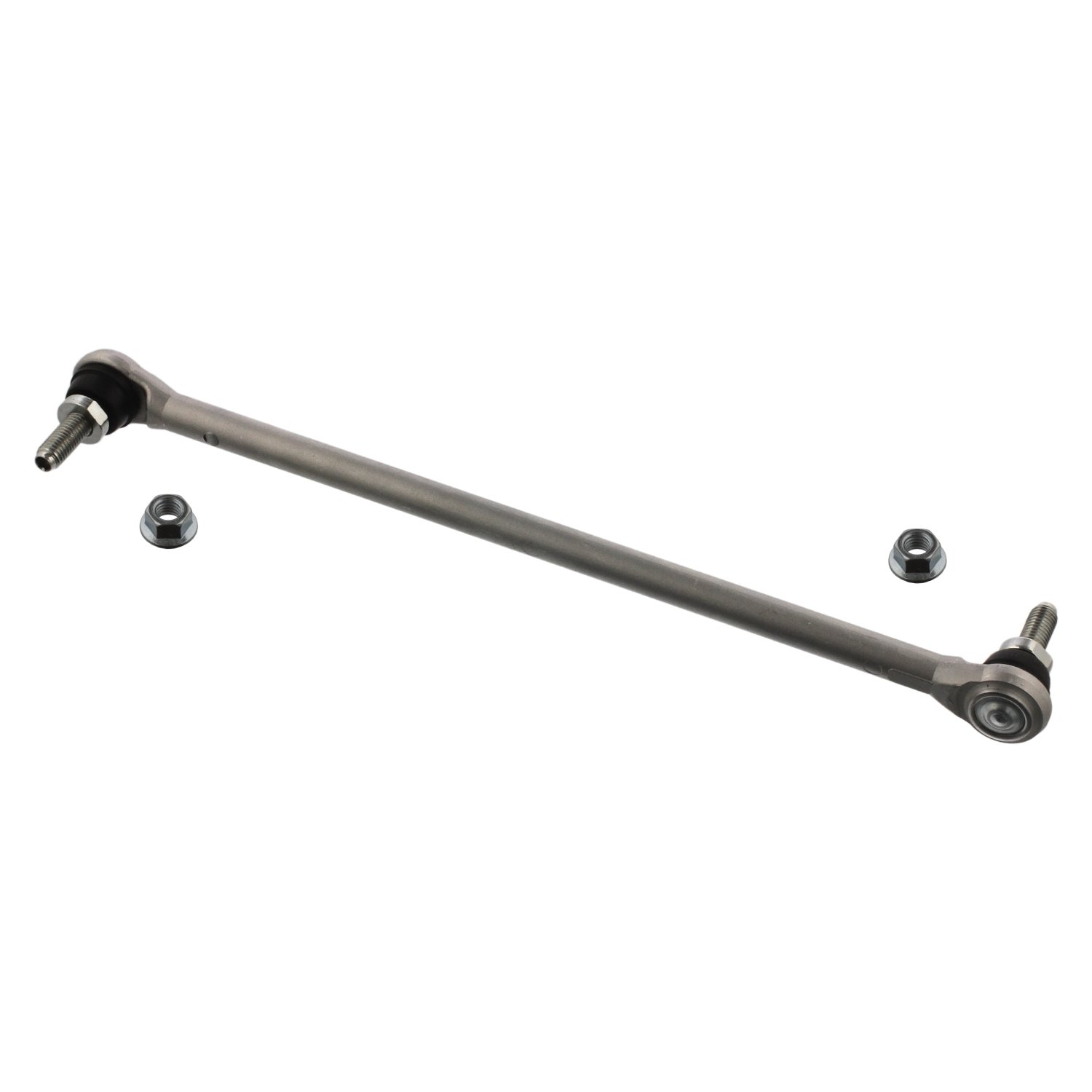 febi bilstein 36440 stabiliser link with lock nuts (front axle both sides)  - Pack of 1