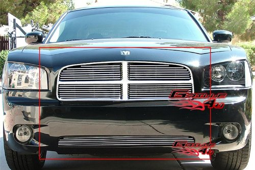 2007 Dodge Charger Billet (05-10 Dodge Charger Billet Grille Grill Combo insert # D67947A)