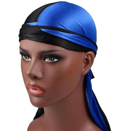 5456bf07e New Patchwork Fashion Unisex Women Men Soft Silky Durag Head Wrap ...