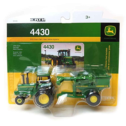 1/64 John Deere 4430 w/Grain Cart Ertl #45534 - LP53305