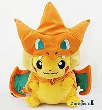 peluche pikachu charizard