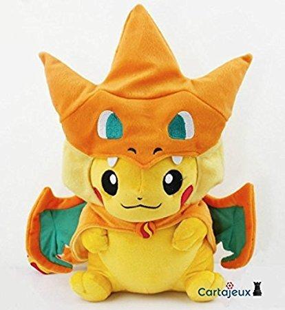 Amazon Com Pokemon Mega Charizard Y Version Center Original Pikachu
