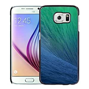 New Personalized Custom Designed For Samsung Galaxy S6 Phone Case For Big Blue Wave Phone Case Cover