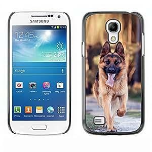YOYO Slim PC / Aluminium Case Cover Armor Shell Portection //Majestic German Shpeard Dog //Samsung Galaxy S4 Mini