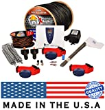 Underground Electric Dog Fence Ultimate – Extreme Pro Dog Fence System for Easy Setup and Maximum Longevity and Continued Reliable Pet Safety – 3 Dog | 2000 Feet Pro Grade Dog Fence Wire Review